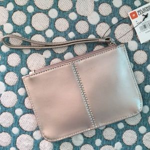 Soft Pale Gold Wristlet Wilson's Leather